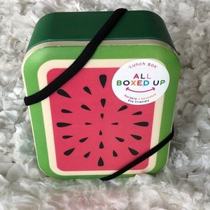 🆕All Boxed Up Lunch/Storage Box. NWT  0000H